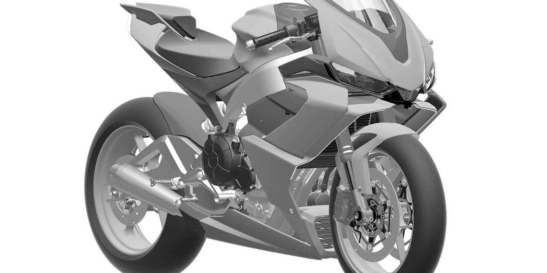 Aprilia RS 660 Patentamtbilder