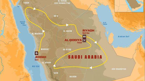 Dakar Rallye 2020 Saudi Arabien