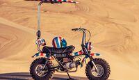 """Deus Ex Machine """"The Goof Bike"""" Suzuki RV 90"""