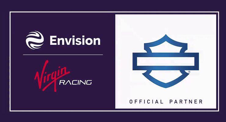 Envision Virgin Racing Formel E Harley-Davidson