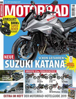 MOTORRAD 08/2019 - Titel.