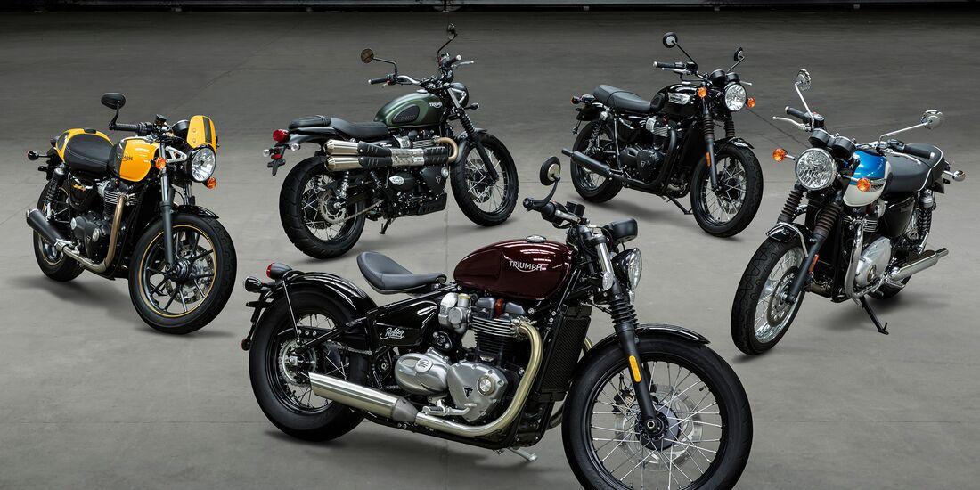 Modern-Classic-Baureihe von Triumph.
