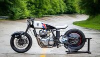 """Royal Enfield """"Two Smoking Barrels x Sinroja for the Sultans of Sprint"""""""