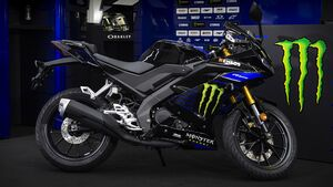 Yamaha YZF-R125 Monster Energy Yamaha MotoGP Edition