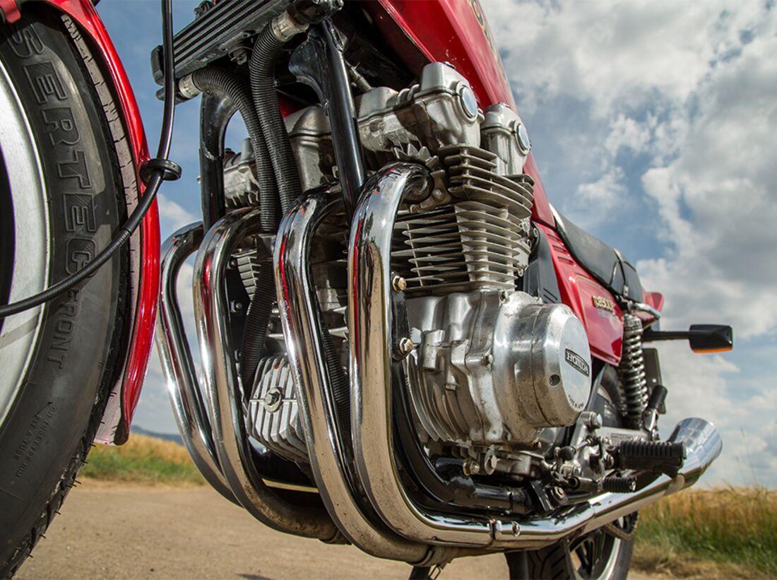 Auf Achse mit Honda CB 900 F Bol dOr, Honda CBX, Kawasaki