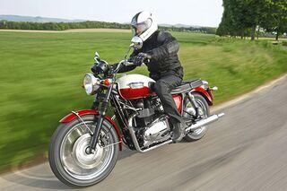 Triumph Bonneville In Der Gebrauchtberatung Motorradonlinede