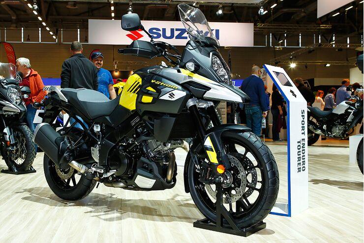 Suzuki V-Strom 650 und 1000 auf der INTERMOT ...  Suzuki V-Strom ...