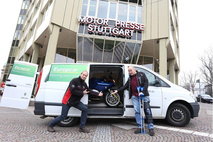 Servicetest Beim Motorradhändler Motorradonlinede
